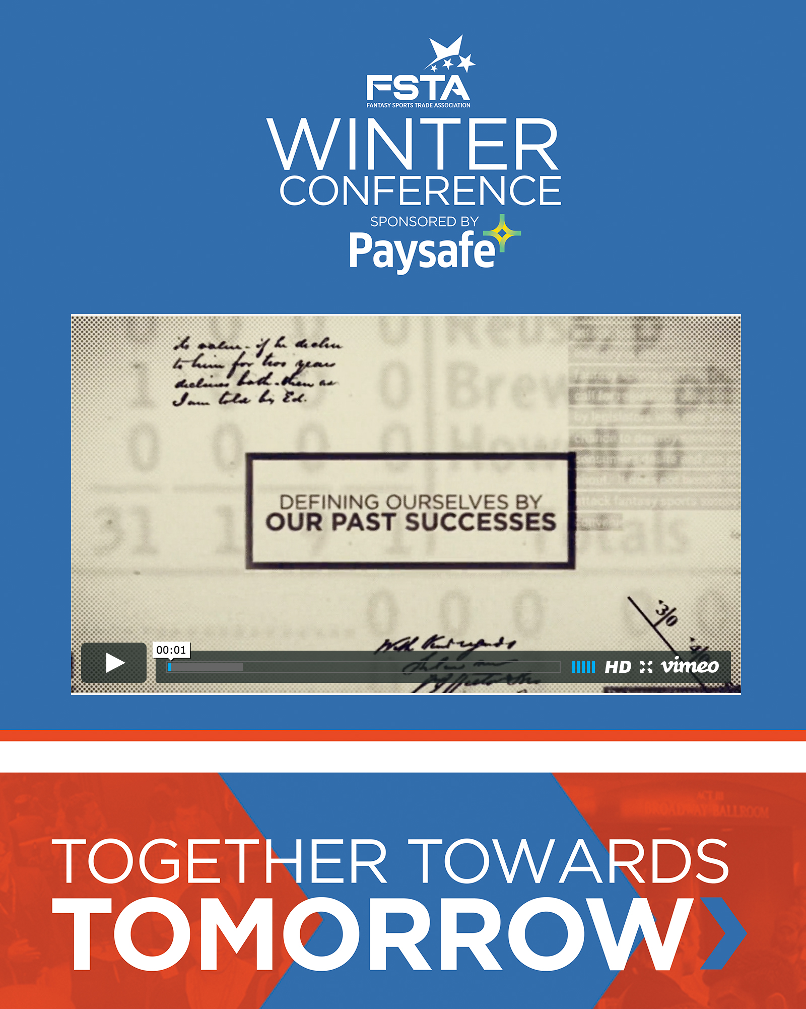 2016 FSTA Winter Conference Opener