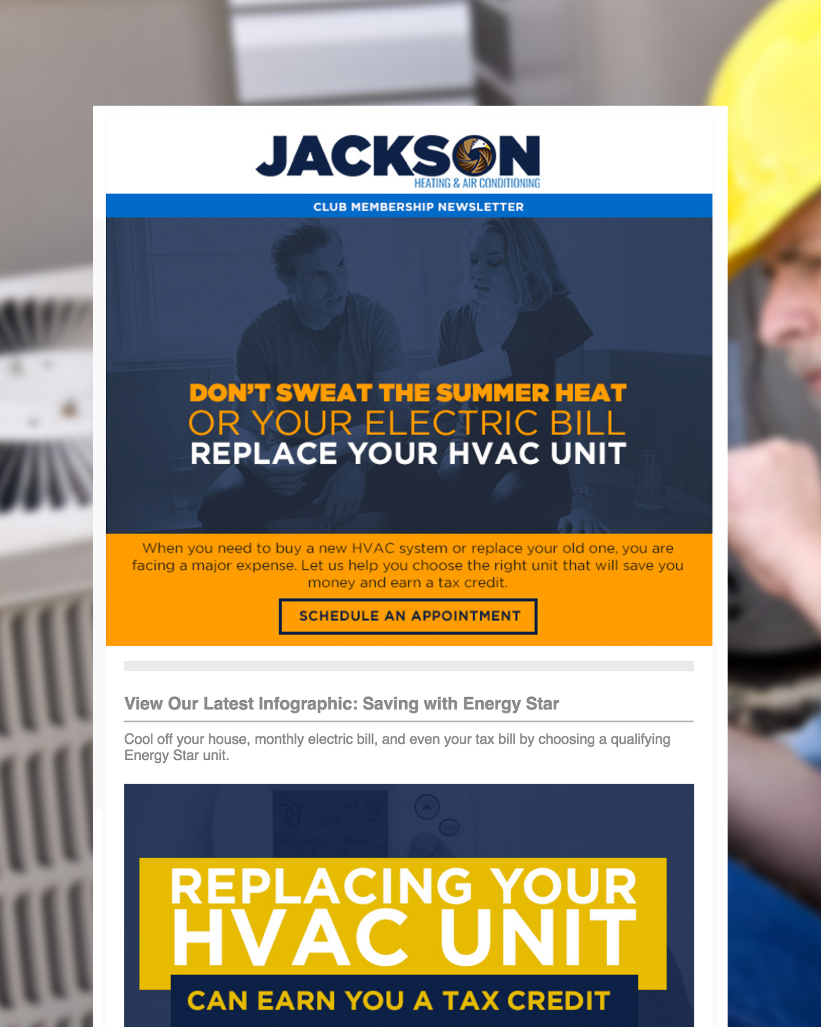 Jackson HVAC Newsletter