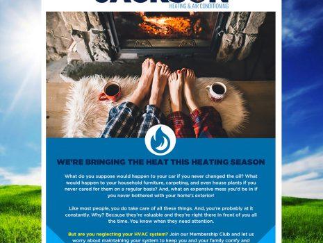 Jackson HVAC New Member Campaign