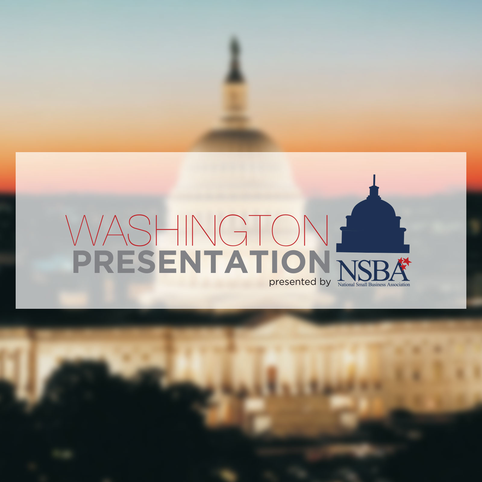 NSBA Washington Presentation