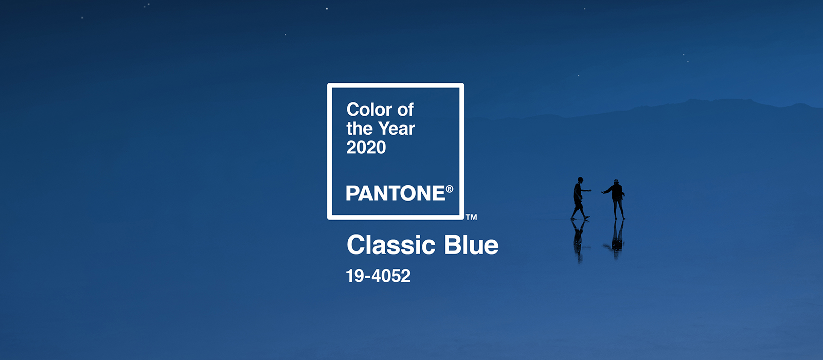 Feeling Blue? So is Pantone in 2020