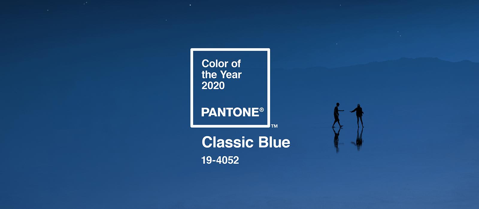 Feeling Blue? So is Pantone in 2020